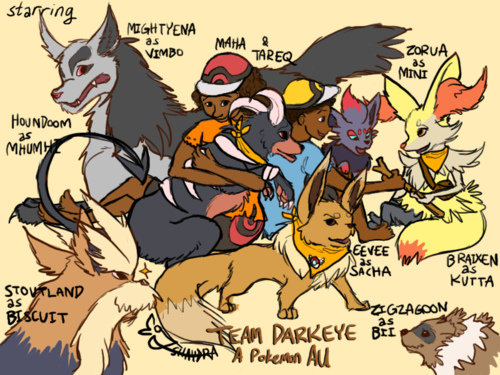 Darkeye Pokemon AU, by Shaydradraws!
